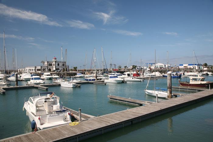 Lanzarote, Playa Blanca, Marina Rubicon - mittelmeer-reise-und-meer.de